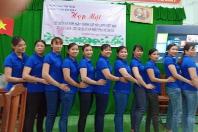 Tổ chức kỉ niệm ngày Thành lập hôi liên hiệp Phụ nữ Việt Nam